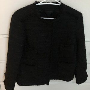 Zara sprarkly tweed blazer